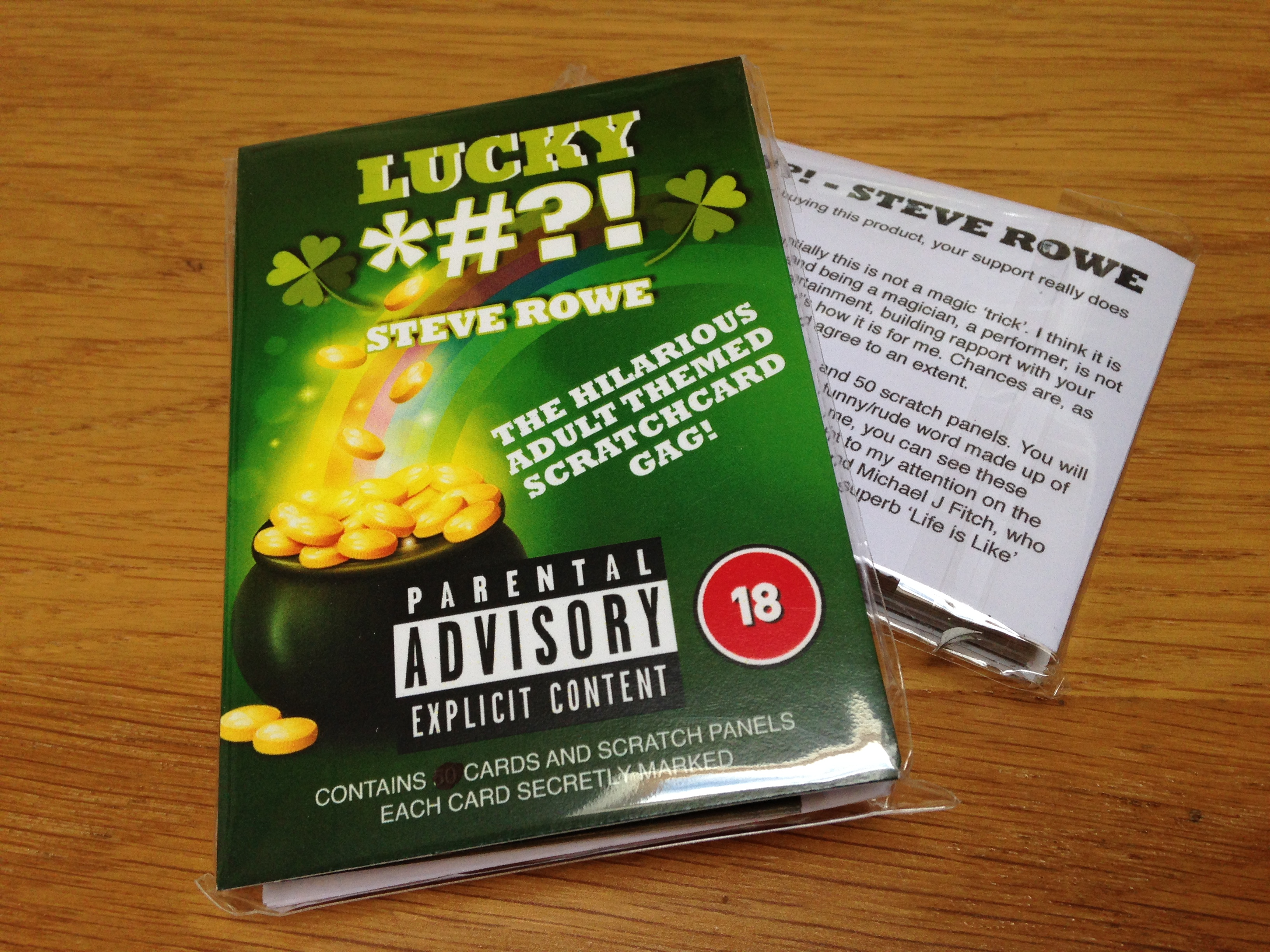 Free Scratch Cards >> LUCKY DAY – adult themed scratch cards | The Gimmick King